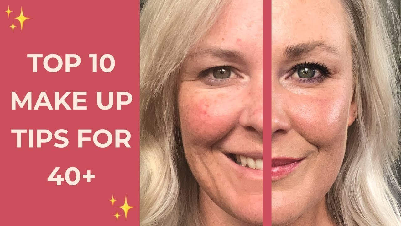 Top 10 Makeup Tips For Over 10s - Skin Prep, Foundation, Brows, Eyeliner &  More!