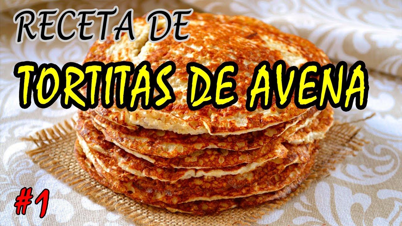 Receta Fitness Tortitas De Avena Youtube