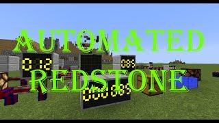 [Обзор][1.12.2] Automated Redstone - интегральные схемы на редстоуне