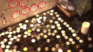 重阳节香港民众太子站外悼念831死伤者