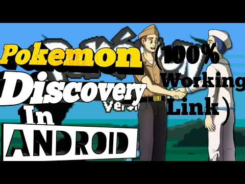 Play Pokémon Discovery Rom Hack On Android! | Link + Gameplay|