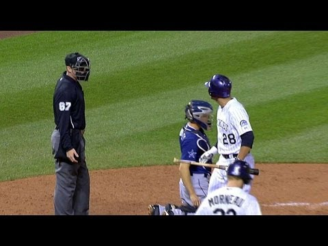 SD@COL: Arenado ejected for arguing called strike