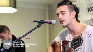 The 1975 in the CD102.5 Big Room