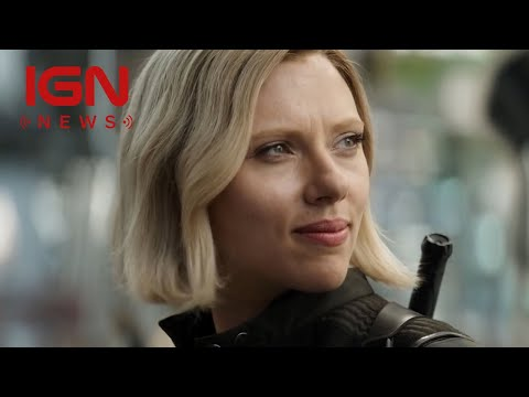 Avengers: Infinity War Finds Captain America and Black Widow