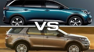 Peugeot 5008 vs Land Rover Discovery Sport