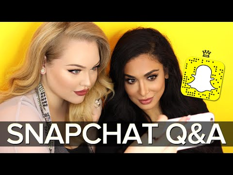 SNAPCHAT Q&A: Huda Beauty, Getting Married & MORE!