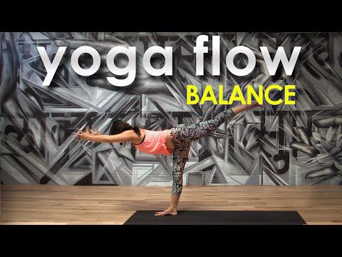 Yoga Stretches / Yoga Flow  ~ Balance with Gloria Baraquio