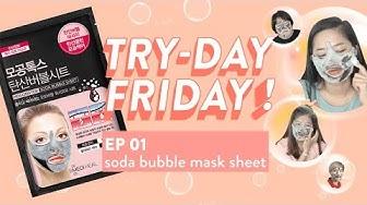 Thử Sản Phẩm Mặt Nạ Sủi Bọt Mediheal | Try-day Friday - Ep.1 | Yppuna