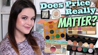 Foiled & Metallic Eyeshadow SMACKDOWN! Does Cost REALLY Matter?
