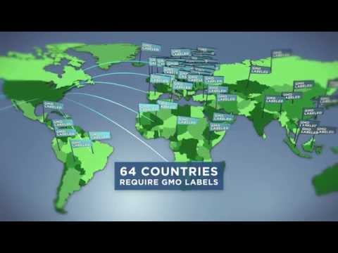 GMOs are labeled in 64 Countries, Why not here? Vote Yes on 92!