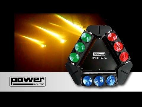SPIDER ALFA - POWER LIGHTING