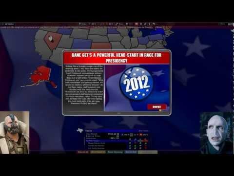 US Presidential Election 2012 Obama Romney Special - The political machine Bane VS Voldemort