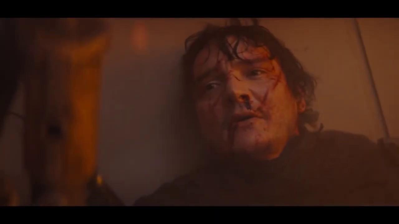 The Mandalorian Face Reveal - YouTube