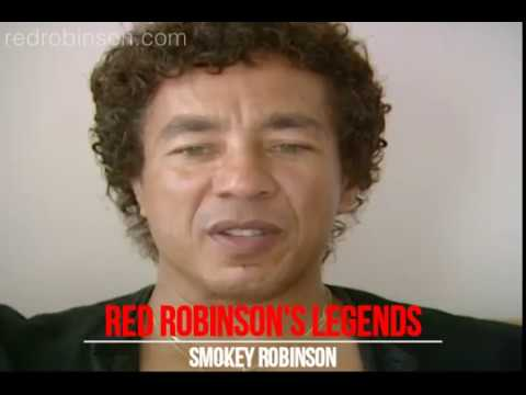 Red Robinson's Legends Of Rock - Smokey Robinson Part 1