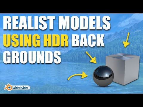 How To Use HDRI Maps For Realistic Lighting Effect on