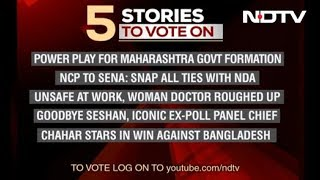 Five Top Stories Of November 11, Pick The Story You Want To Follow On NDTV 24X7