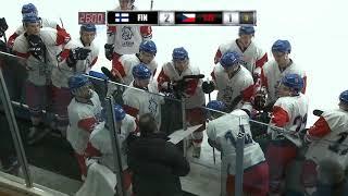 Maalikoostevideo U20 FIN-CZE // Vierumäki 10.11.2018