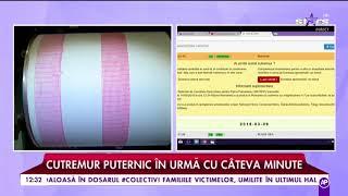 Informație de ultimă oră! Cutremur de 4,7 grade, în România