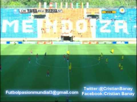 Chile 4 Ecuador 1 (Adn Radio Chile) Sudamericano Sub 20 2013 Los goles (23/1/2013)