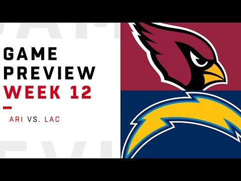 Arizona Cardinals vs. Los Angeles Chargers | Week 12 Game Preview | NFL Playbook