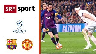 FC Barcelona - Manchester United 3:0 | Highlights - Champions League 2018/19 - Viertelfinal