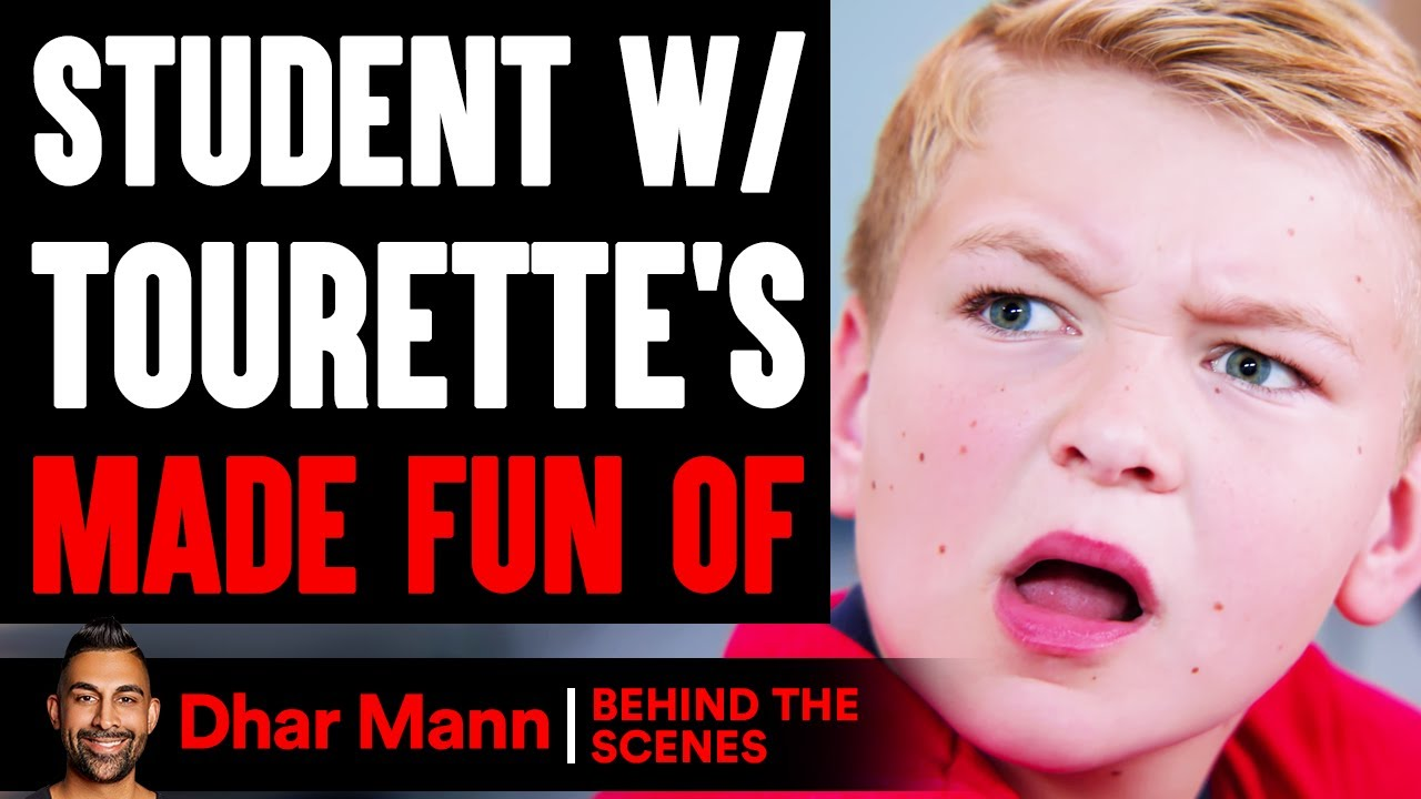 Student With TOURETTE'S Made Fun Of (Behind The Scenes) | Dhar Mann Studios