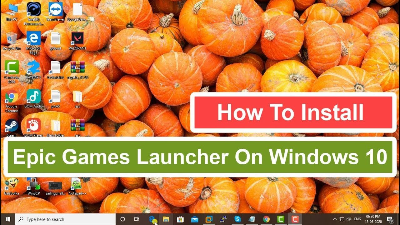 How To Install Epic Games Launcher On Windows 10 - YouTube