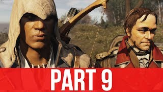 ASSASSIN'S CREED 3 REMASTERED Gameplay Part 9 - SEQUENCE 7 (100% synchronization)