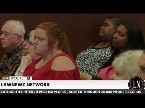 Jessica Chambers Murder Trial Day 1 Victim's Mother Lisa Chambers Testifies 10/10/17