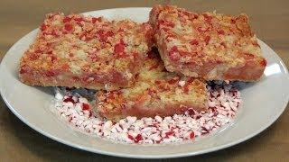 Peppermint Crumble Bars -- Lynn's Recipes