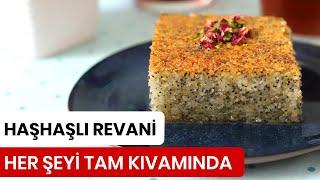 Haşhaşlı Revani Tarifi - Poppy Seeds Revani Recipe