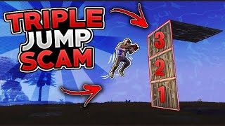 *NEW SCAM* The Triple Jump Scam! (Scammer Gets Scammed) In Fortnite Save The World