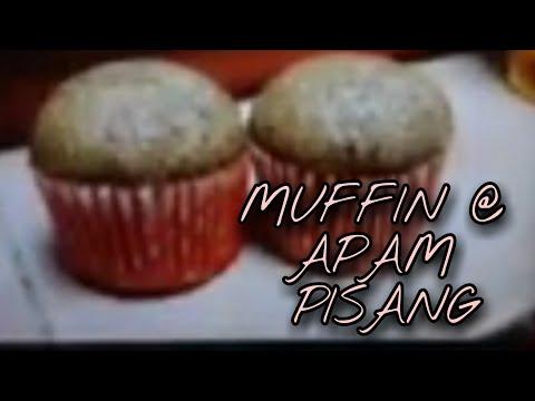 resepi-muffin-/-apam-pisang-tanpa-mixer