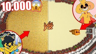 10.000 MIKELLINO VS MIKECRACK.EXE GIGANTE | BATALLA DE COLISEO MINECRAFT ROLEPLAY #7 Video