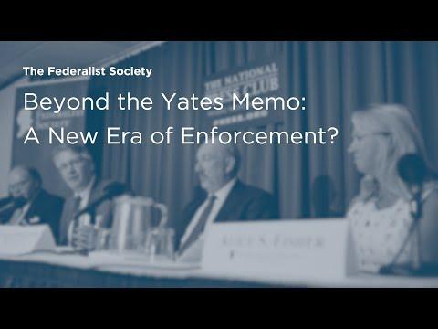 Beyond the Yates Memo: A New Era of Enforcement?