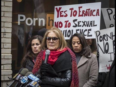 Feminist Gloria Steinem Says NY Pornhub Store Is A Danger To Women