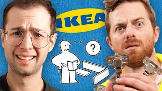 The Try Guys Build Ikea Furniture Without Instructions