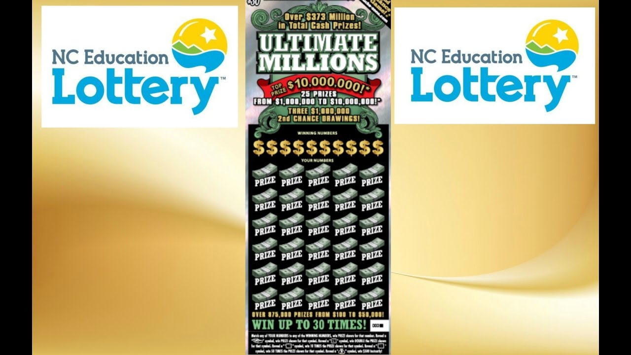 $30 Ultimate Millions NC Lottery Ticket