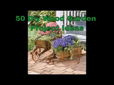 DIY Wood Projects for Garden YOU CAN START NOW | DIY Garden