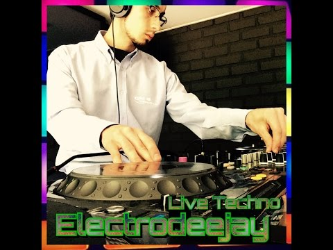 Electrodeejay - Set Techno Music @ Dj School Chile