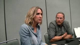 Midnight Texas: Arielle Kebbel (Olivia) and Jason Lewis (Joe) INTERVIEW