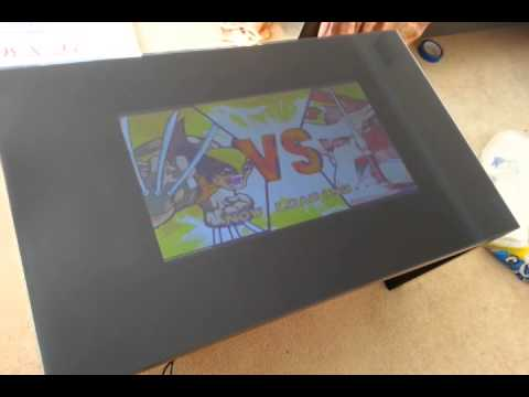 Arcade Coffee Table Test YouTube