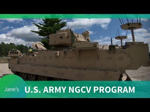 IAV 2020: U.S. Army Next Generation Combat Vehicle Program Update