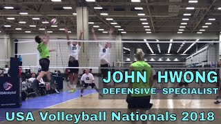 John Hwong Volleyball Highlights - USAV Nationals 2018