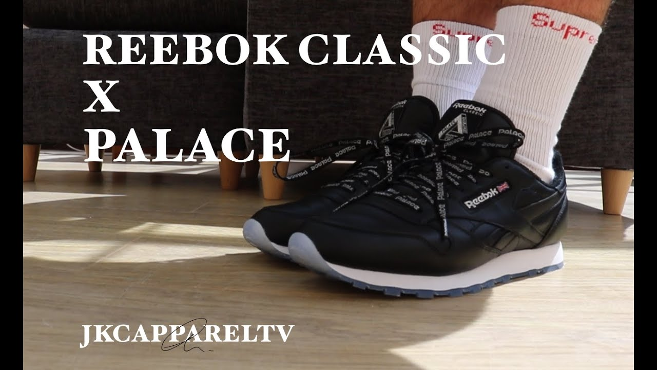 bd8f3b5258a1 PALACE X REEBOK CLASSIC REVIEW + ON FOOT - YouTube