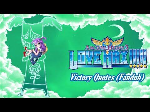 Arcana Heart 3: Love Max!!!!! (Fandub) - Eko (Victory Quotes) |