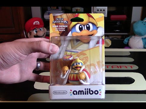 King Dedede Amiibo Unboxing Review Nintendo Collecting Youtube