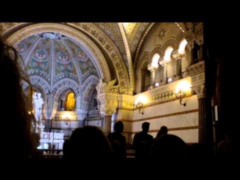 Pro Musica Hungarica Choeur de l'Université Lóránd Eötvös de Budapest - Lyon Fourvière 7/13