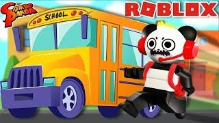 FIRST DAY BACK TO SCHOOL IN ROBLOX ! Robloxian High School ROBLOX Let's Play with Combo Panda