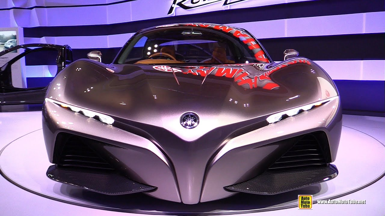 Yamaha Sports Ride Concept Car Exterior Walkaround Debut At
